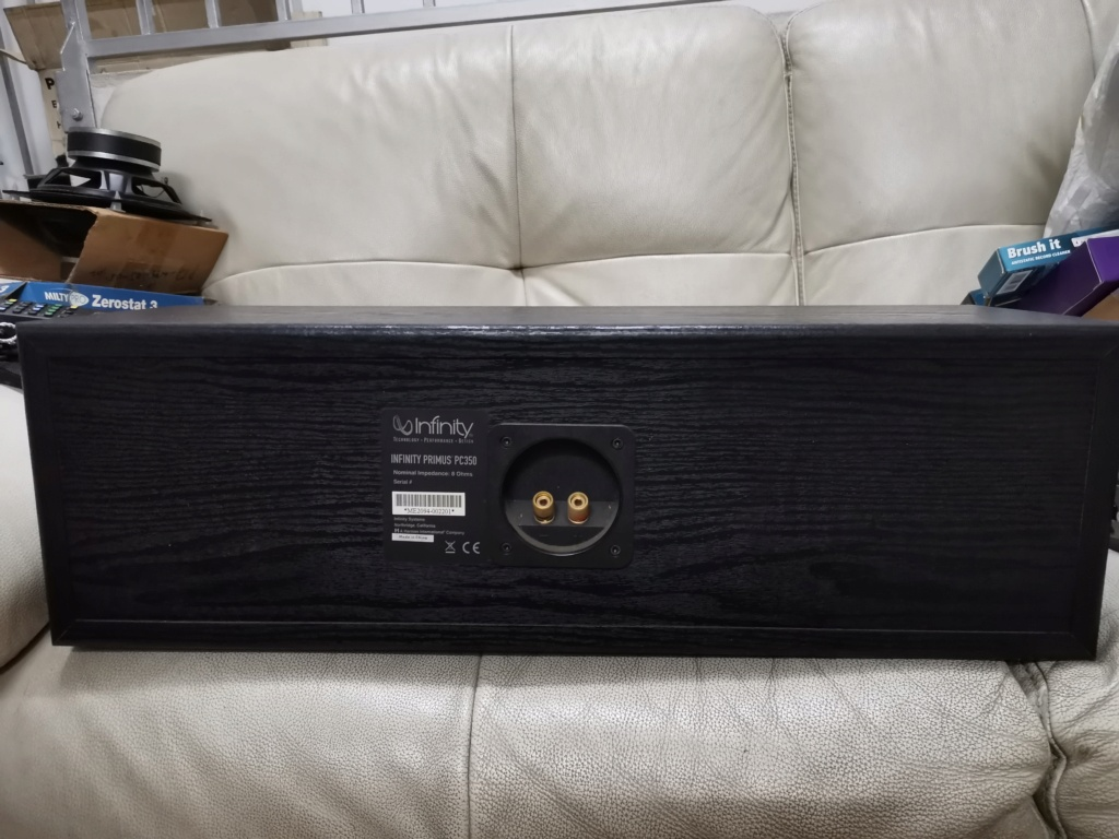 Infinity Primus Pc350 Center Channel Speaker SOLD Img_2357