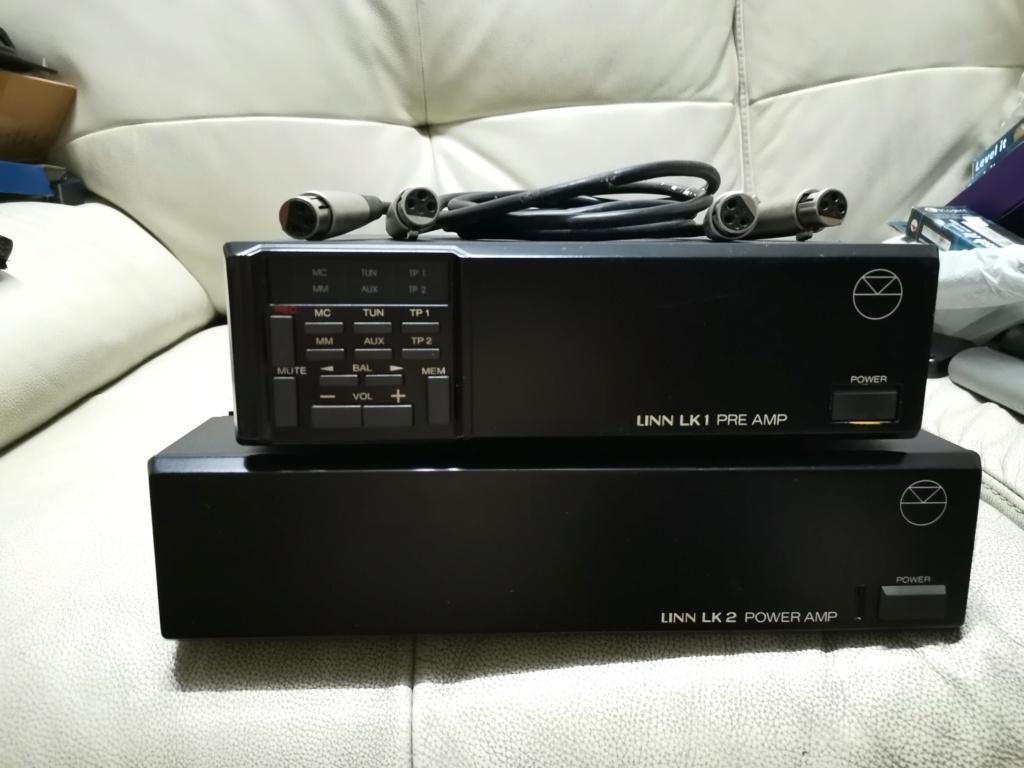 Linn LK1 preamplifier & LK2 power amplifier SOLD Img_2371