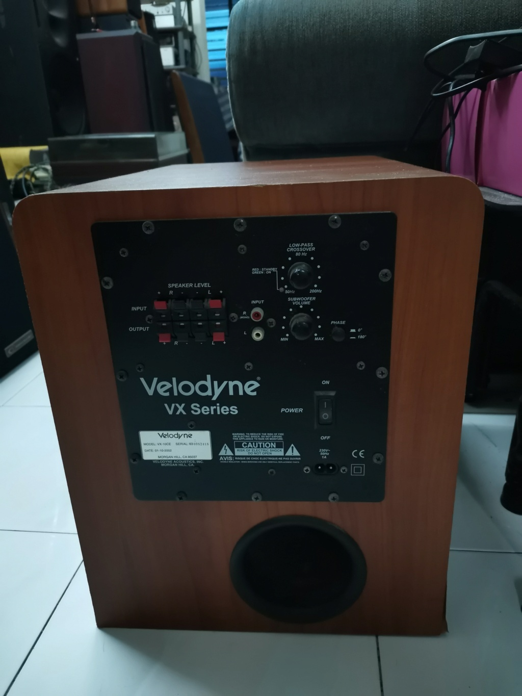 Velodyne VX-10 CE Powered Subwoofer SOLD Img_2377