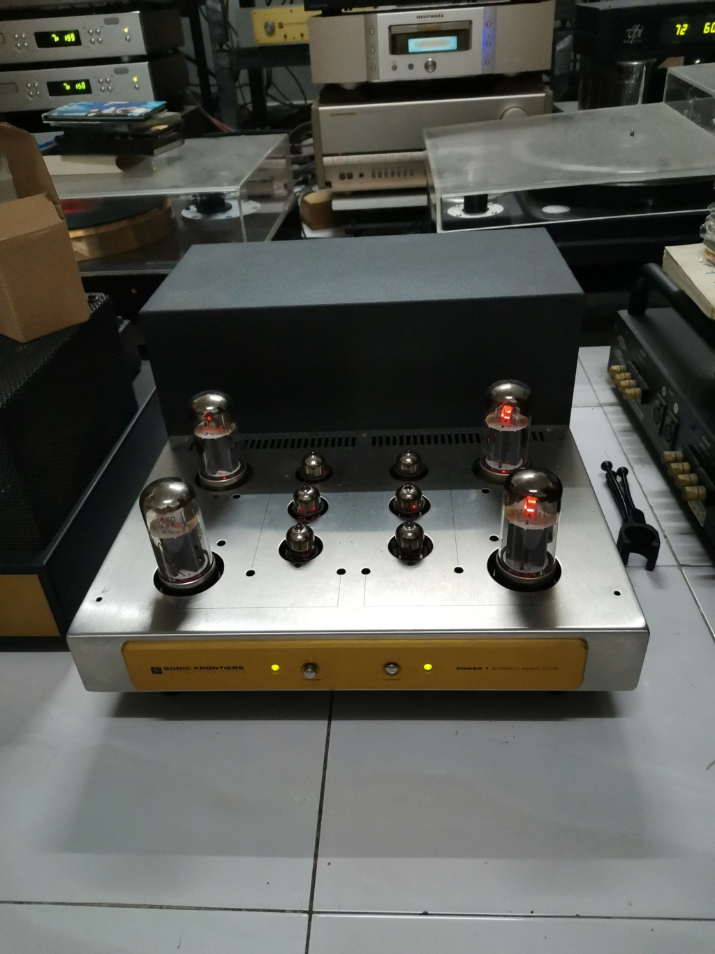 Sonic Frontiers Power 1 Stereo Amplifier Img_2388