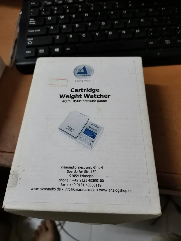 Clearaudio Cartridge Weight Watcher Img_2391