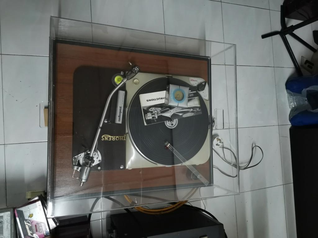 Thorens TD124 MK1 turntable SOLD Img_2396