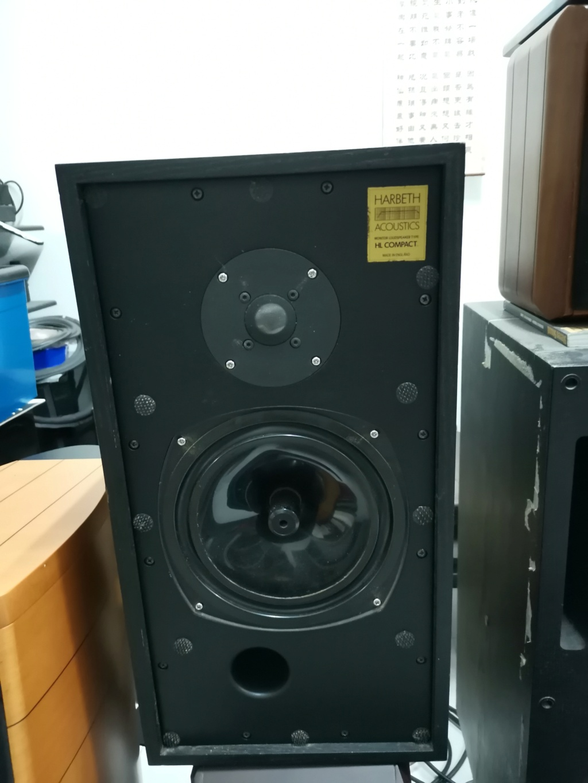 Harbeth HL compact speaker SOLD Img_2411