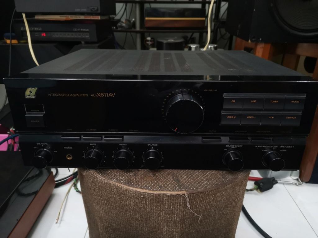 Sansui AU-X611AV amplifier Img_2422