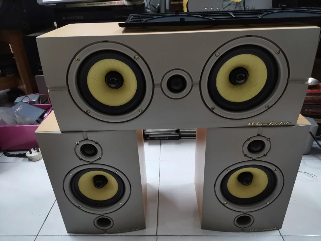 Wharfedale Diamond 8.1 speaker & Diamond 8 center speaker SOLD Img_2430