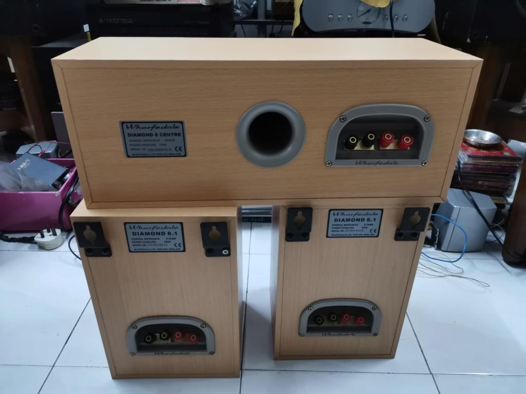 Wharfedale Diamond 8.1 speaker & Diamond 8 center speaker SOLD Img_2431