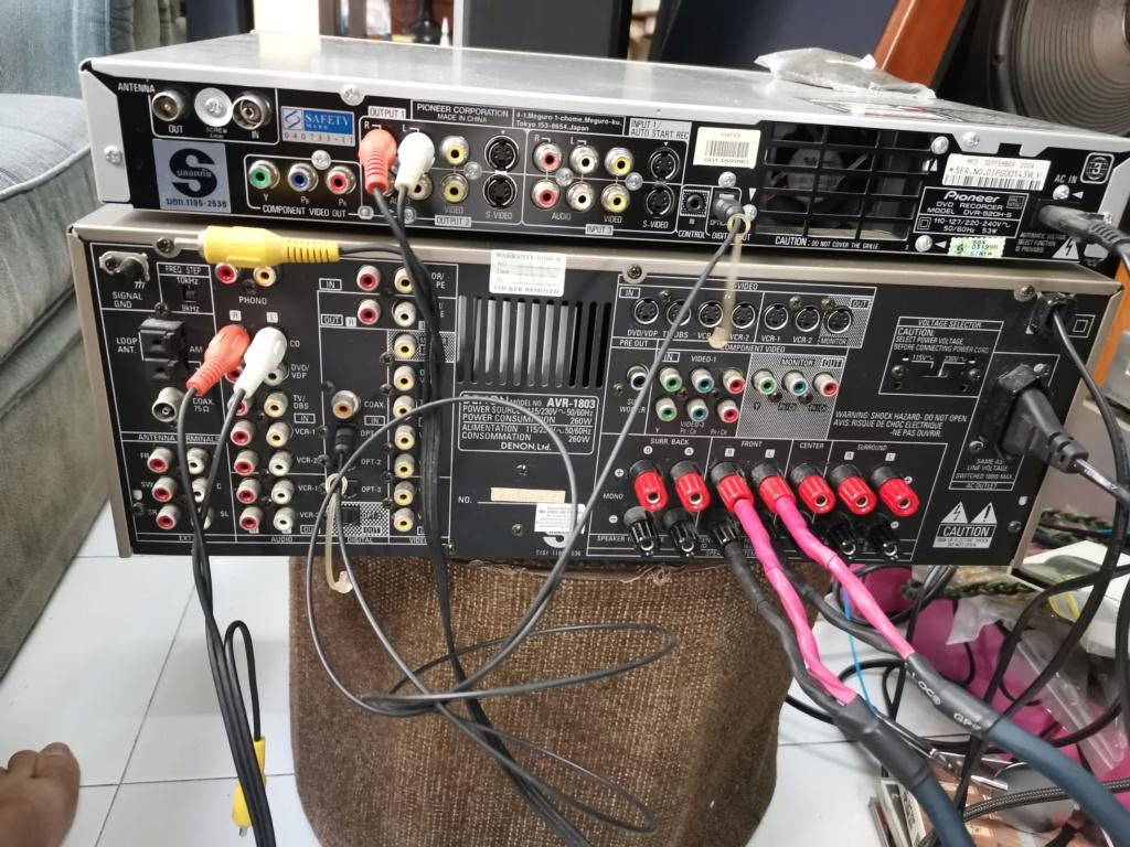 Denon AVR-1803 surround receiver SOLD Img_2440