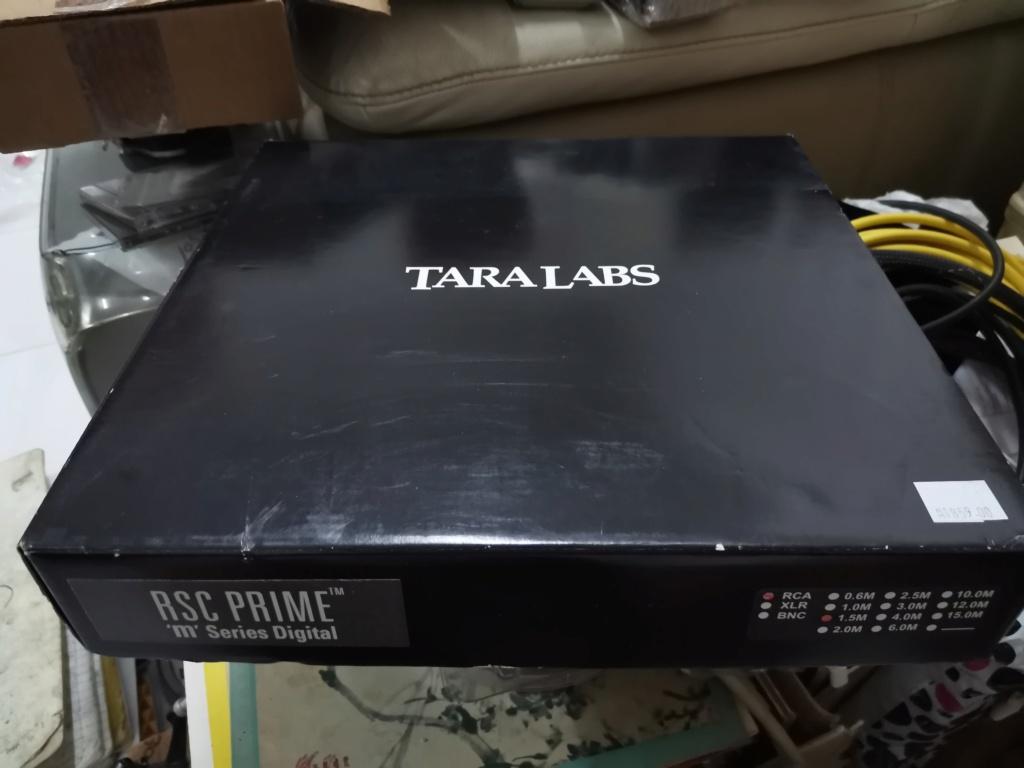Tara Labs RSC Prime M Digital RCA Interconnect cable Img_2456