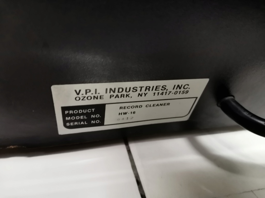 VPI HW16 record cleance Img_2540