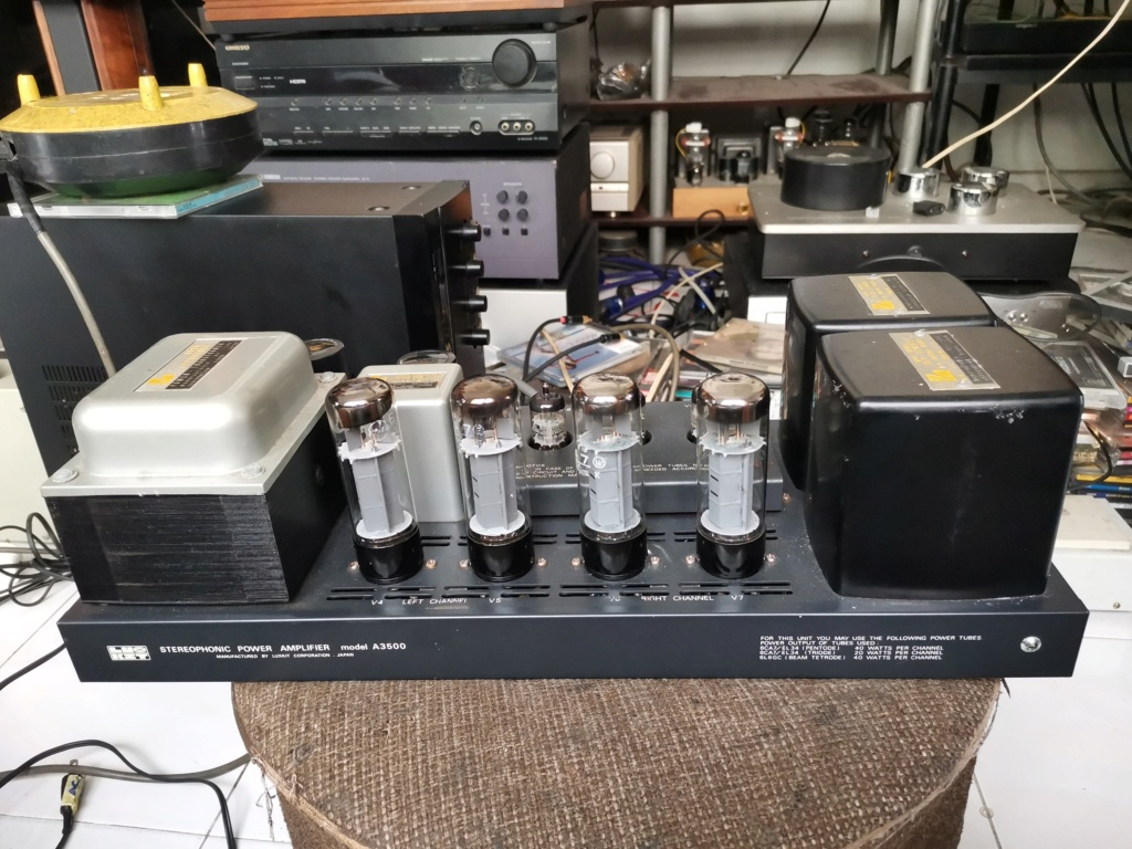 Luxkit A3500 power amplifier Img_2545