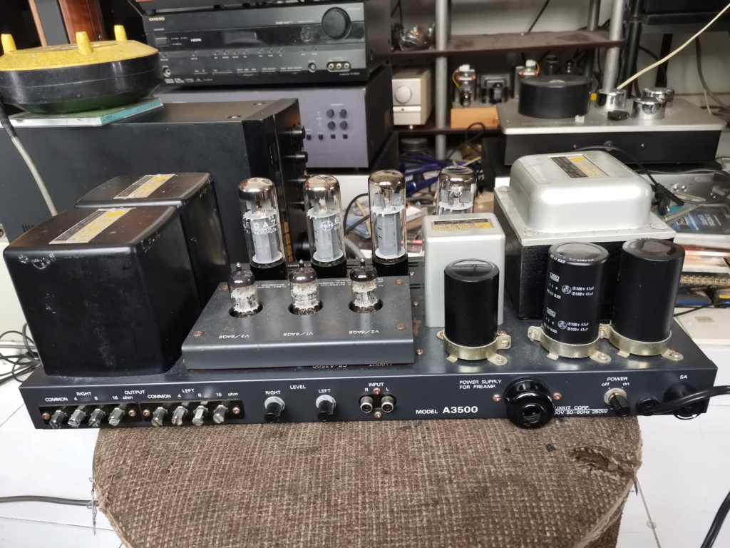 Luxkit A3500 power amplifier Img_2546