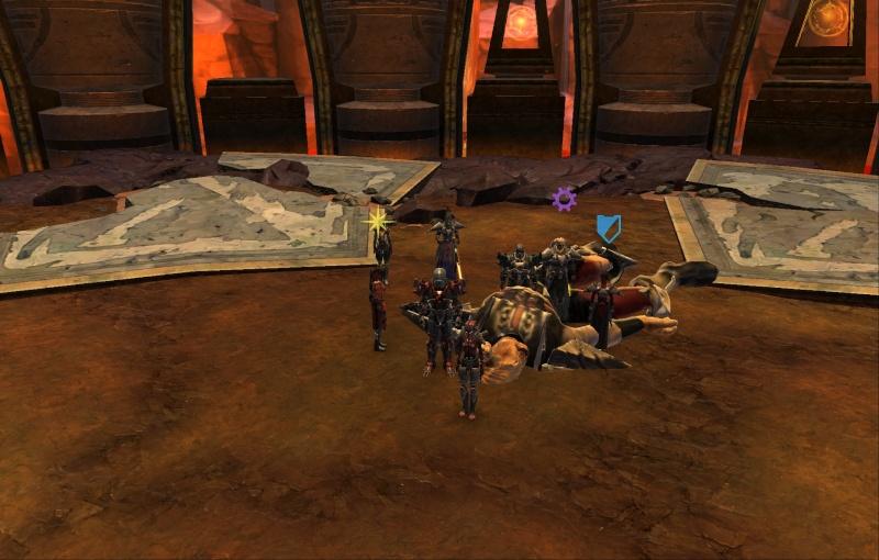 la guilde et son avancée PVE Screen13