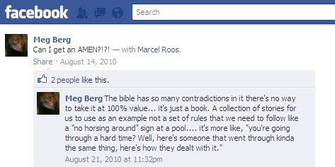 Scripture is from God...or..  umm its not?? huh? Screen12