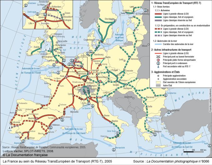 La France au sein du Réseau TransEuropéen de Transport (RTE-T) Jpg_dp10