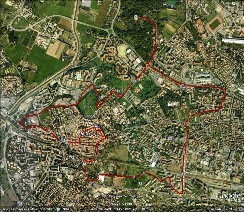 Journées du patrimoine 2011 + semaine mobilité Trajet11