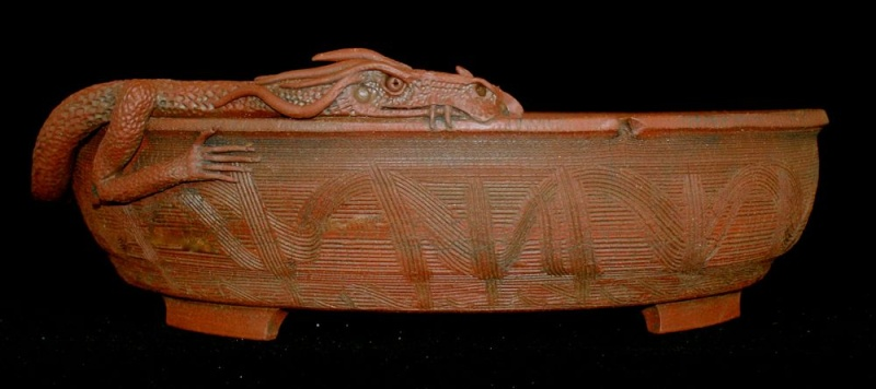 Stone Monkey Ceramics Collectors Pots Dsc03416