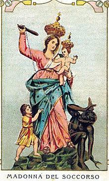 La Madonna del Manganello - Protectrice des Fascistes 220px-12