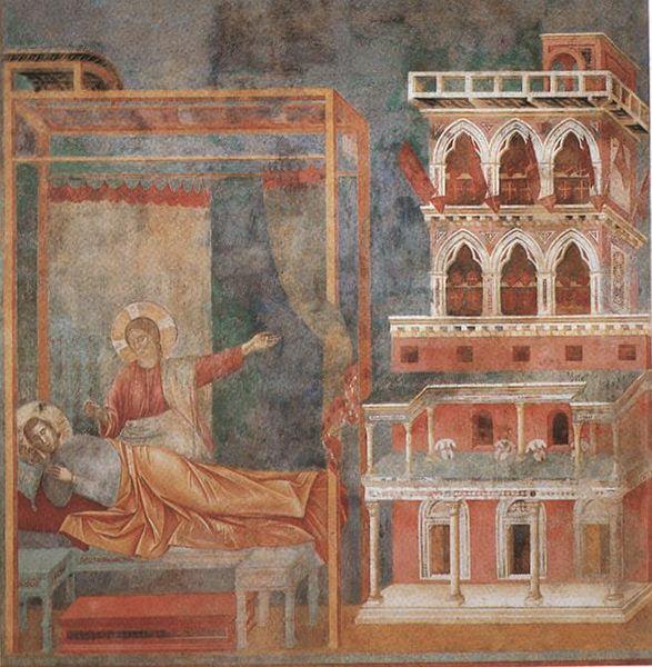 Giotto di Bondone, XIII° siècle : Vie de saint François d'Assise : 587px-10