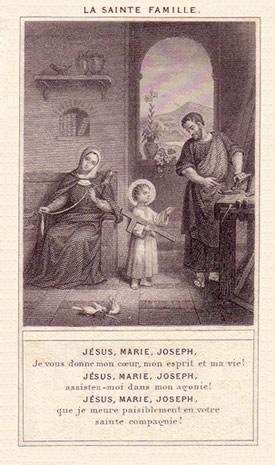 Fête de la Sainte Famille Enfant10