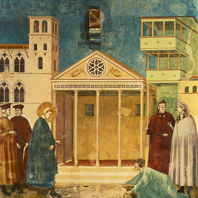 Giotto di Bondone, XIII° siècle : Vie de saint François d'Assise : Giotto10