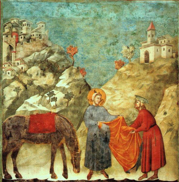 Giotto di Bondone, XIII° siècle : Vie de saint François d'Assise : Giotto11