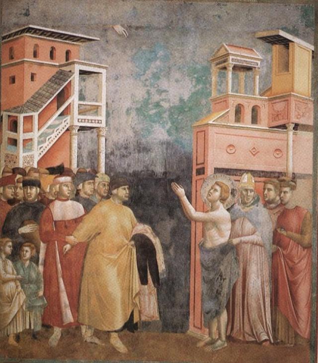 Giotto di Bondone, XIII° siècle : Vie de saint François d'Assise : Giotto13