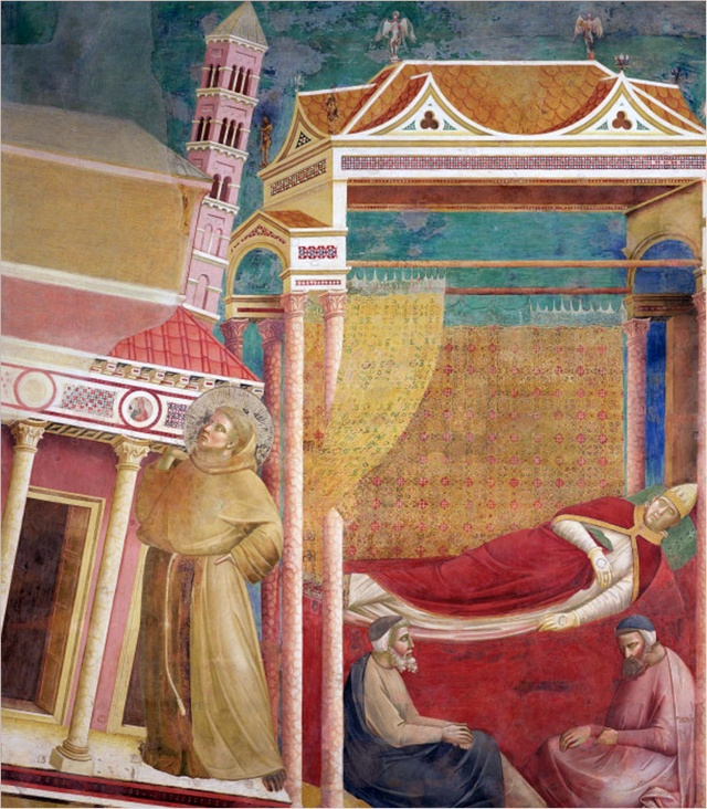 Giotto di Bondone, XIII° siècle : Vie de saint François d'Assise : Giotto14