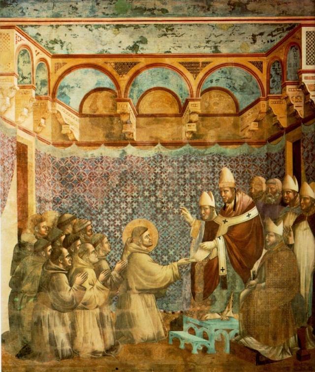 Giotto di Bondone, XIII° siècle : Vie de saint François d'Assise : Giotto15