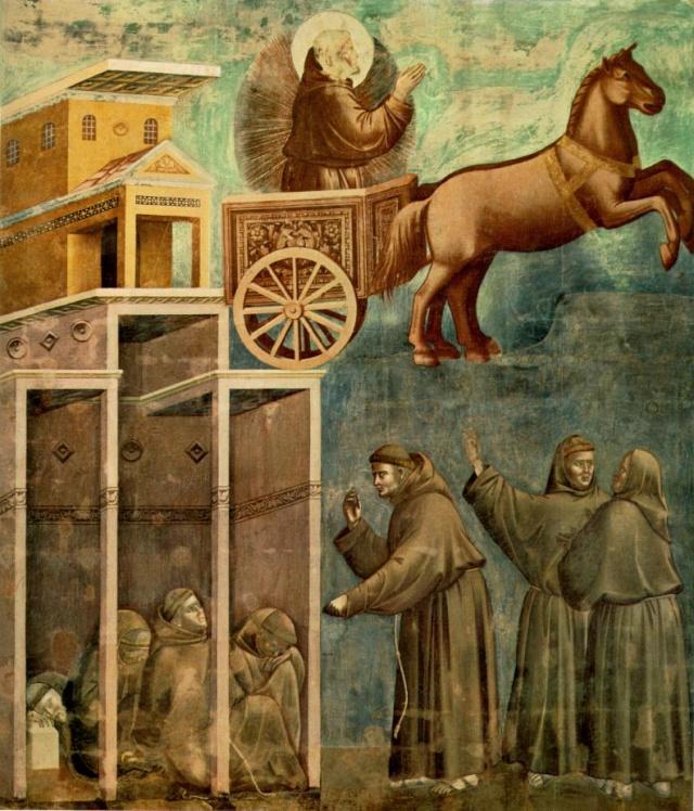 Giotto di Bondone, XIII° siècle : Vie de saint François d'Assise : Giotto17