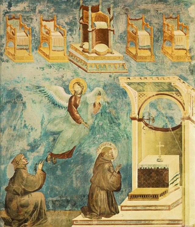 Giotto di Bondone, XIII° siècle : Vie de saint François d'Assise : Giotto18