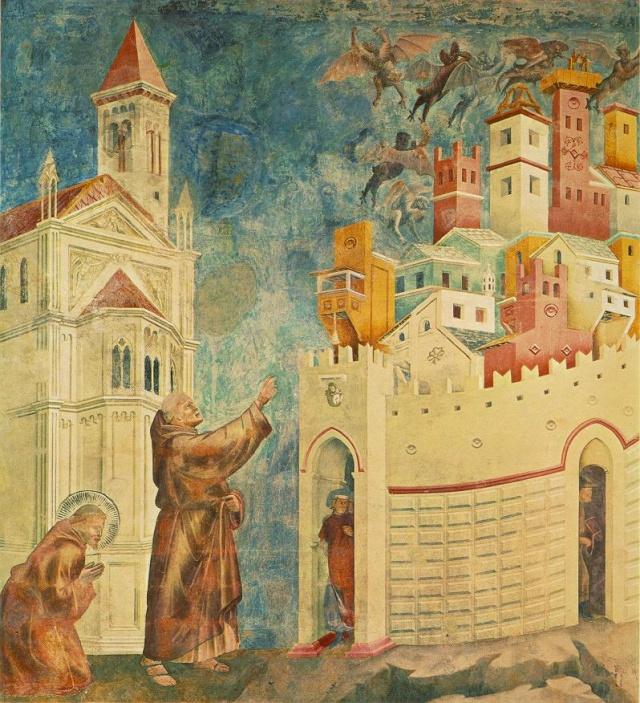 Giotto di Bondone, XIII° siècle : Vie de saint François d'Assise : Giotto19