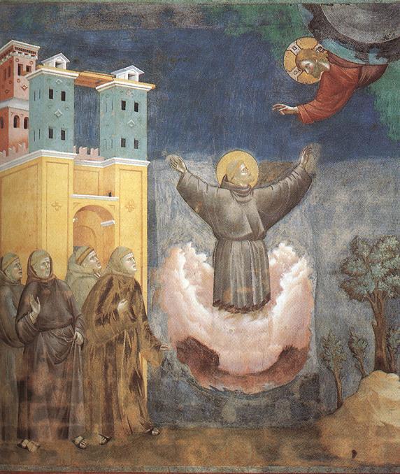 Giotto di Bondone, XIII° siècle : Vie de saint François d'Assise : Giotto21