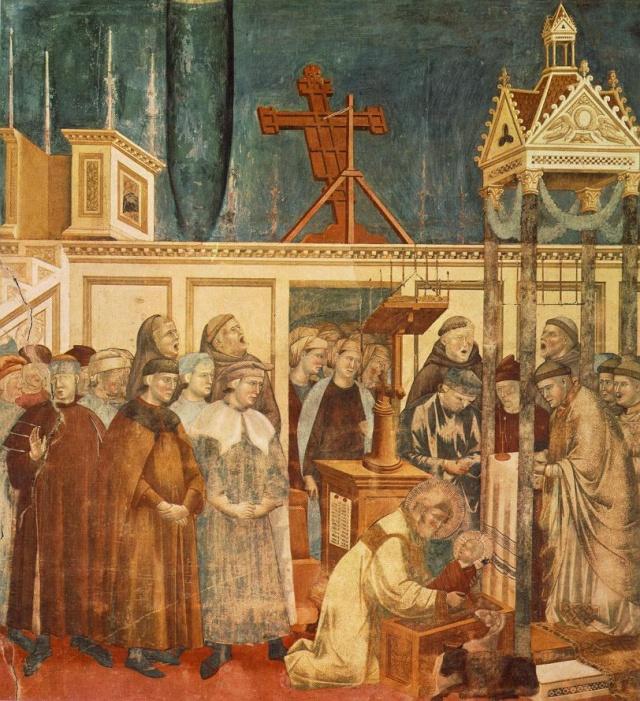 Giotto di Bondone, XIII° siècle : Vie de saint François d'Assise : Giotto22