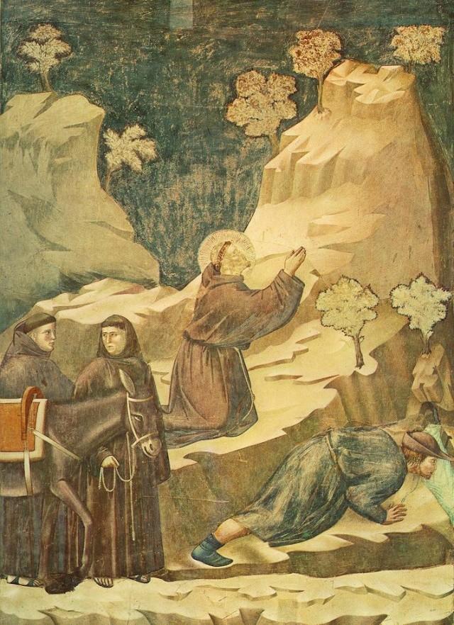 Giotto di Bondone, XIII° siècle : Vie de saint François d'Assise : Giotto23