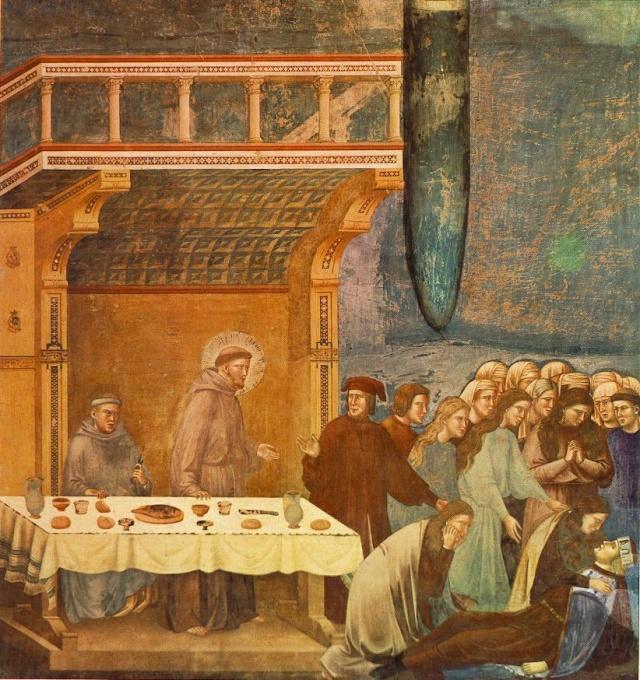 Giotto di Bondone, XIII° siècle : Vie de saint François d'Assise : Giotto25