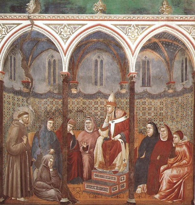 Giotto di Bondone, XIII° siècle : Vie de saint François d'Assise : Giotto26