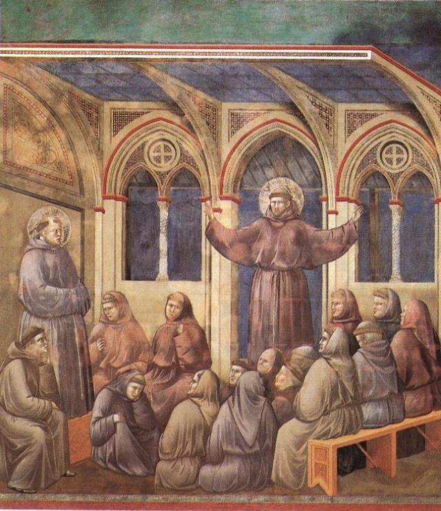 Giotto di Bondone, XIII° siècle : Vie de saint François d'Assise : Giotto27