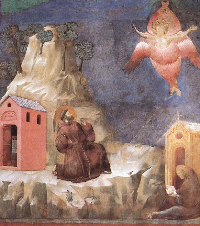 Giotto di Bondone, XIII° siècle : Vie de saint François d'Assise : Giotto28