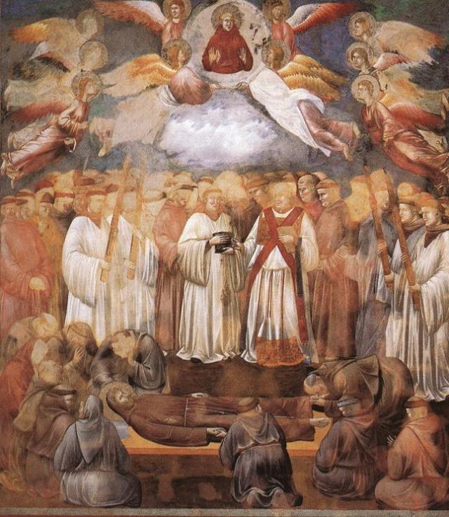 Giotto di Bondone, XIII° siècle : Vie de saint François d'Assise : Giotto29
