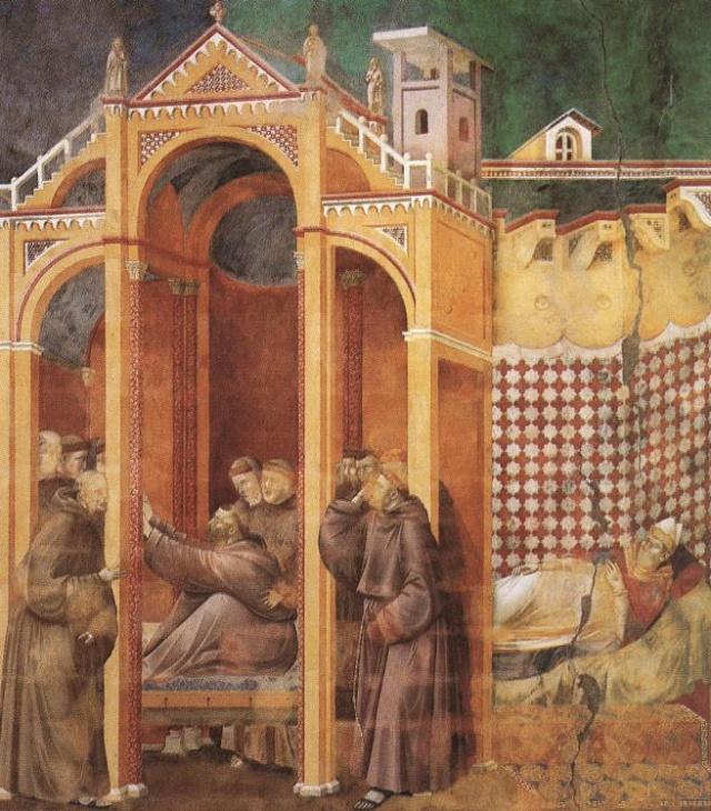 Giotto di Bondone, XIII° siècle : Vie de saint François d'Assise : Giotto30