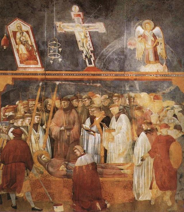 Giotto di Bondone, XIII° siècle : Vie de saint François d'Assise : Giotto31