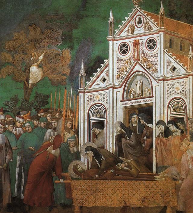 Giotto di Bondone, XIII° siècle : Vie de saint François d'Assise : Giotto32