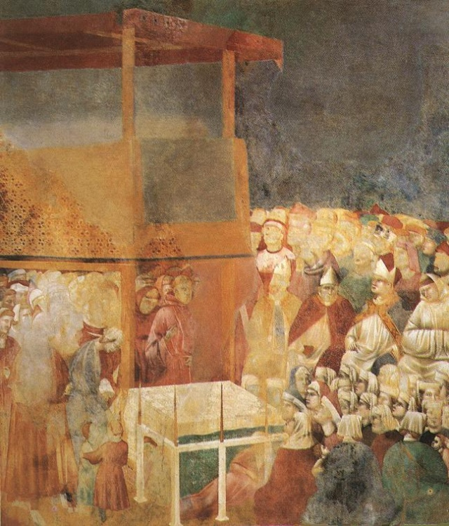 Giotto di Bondone, XIII° siècle : Vie de saint François d'Assise : Giotto33