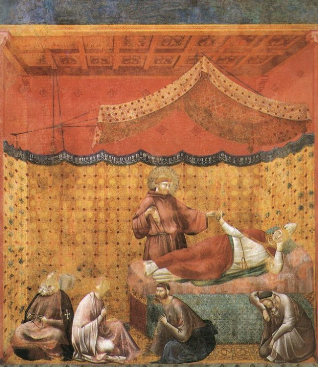 Giotto di Bondone, XIII° siècle : Vie de saint François d'Assise : Giotto34