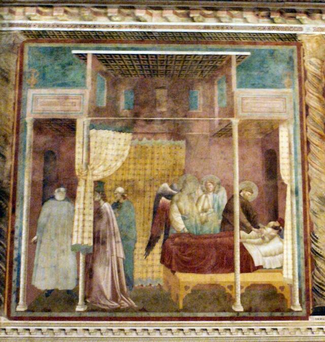 Giotto di Bondone, XIII° siècle : Vie de saint François d'Assise : Giotto35