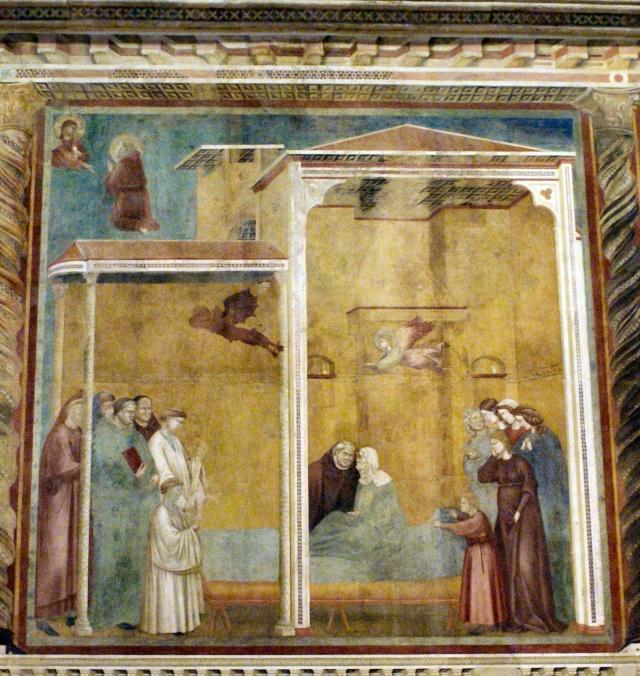 Giotto di Bondone, XIII° siècle : Vie de saint François d'Assise : Giotto36
