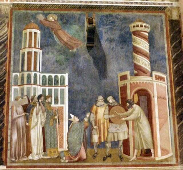 Giotto di Bondone, XIII° siècle : Vie de saint François d'Assise : Giotto37