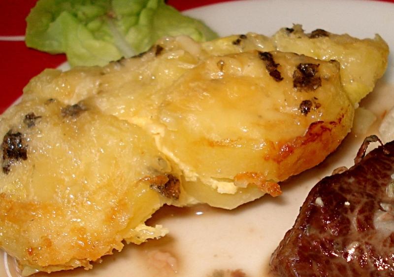 Un délicieux gratin de Pommes de terre au Roquefort Gratin10