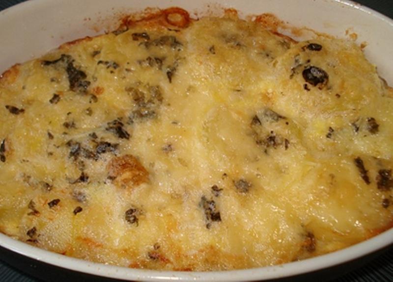 Un délicieux gratin de Pommes de terre au Roquefort Gratin11
