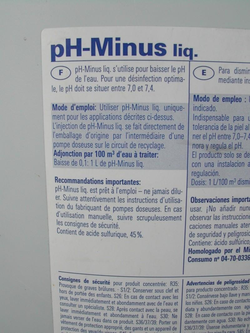 PH trop bas, problème ou pas pour un liner imprimé. Dscn3019